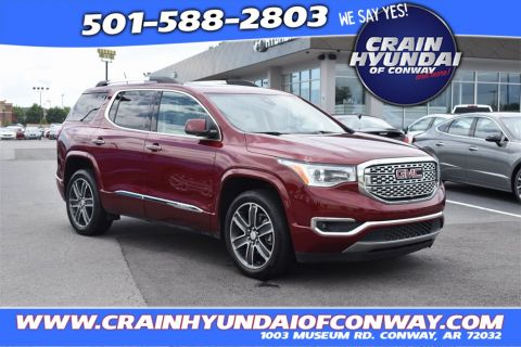 Pre-Owned 2018 GMC Acadia Denali FWD 4D Sport Utility