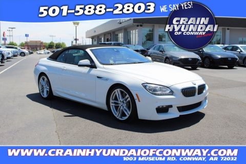 Pre-Owned 2015 BMW 6 Series 640i RWD 2D Convertible